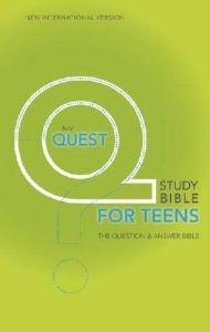 0310941768 | NIV Quest Study Bible For Teens