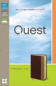 0310941474 | NIV Quest Study Bible Personal Size