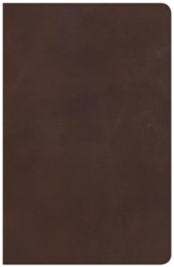 1462779913 | NKJV Large Print Personal Size Reference Bible Brown Genuine Leather Indexed