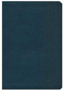 1535905263 | NKJV Large Print Ultrathin Reference Bible Premium Black Genuine Leather