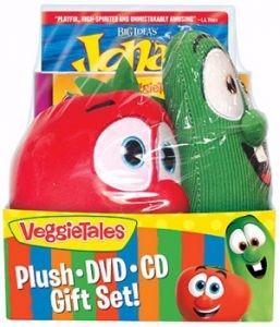 096140 | DVD VeggieTales Plush, DVD, and CD Gift Set