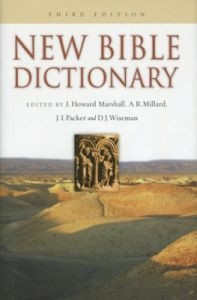 0830814396   New Bible Dictionary Third Edition