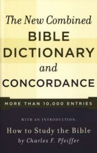0801066808 | New Combined Bible Dictionary And Concordance