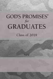 1400209684 | NIV God's Promises for Graduates Class of 2019 Silver Camouflage