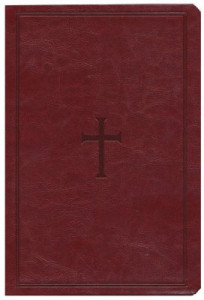 1433615541 | KJV Large Print UltraThin Reference Bible Brown LeatherTouch Indexed