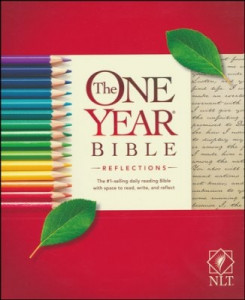 1496416791 | NLT2 One Year Bible Reflections Edition Softcover
