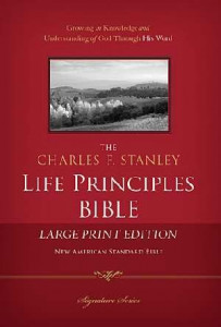 1418546984 | NASB Charles Stanley Life Principles Bible