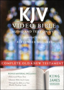 1598567144 | KJV Video Bible Audio and Text On DVD (Value Price)