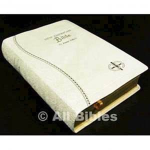 089942600X | NABRE St. Joseph Edition Medium Size Bride's Bible