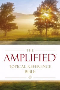031044666X   The Amplified Topical Reference Bible
