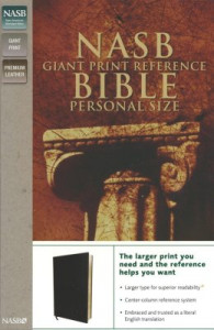 0310627788   NASB Personal Size Giant Print Reference Bible