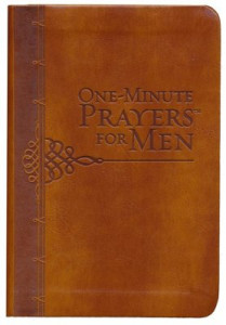 0736966595 | One-Minute Prayers For Men (Gift Edition) Brown Milano Softone