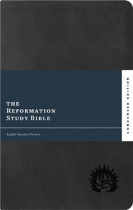 1567698743 | ESV Reformation Study Bible Condensed Edition Charcoal LeatherLike