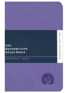 1642891940   ESV Reformation Study Bible Condensed Edition Lavender Leather Like