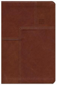 1414381085 | NLT Every Man's Bible Deluxe Messenger Edition-Layered Brown LeatherLike