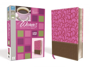 NIV Women's Large Print Devotional Bible