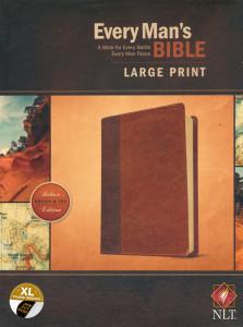 1496433580 | NLT Every Man's Bible, Large Print