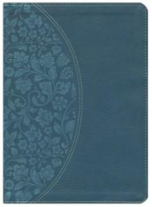 1433646331 | KJV Holman Study Bible Large Print Full Color Dark Teal LeatherTouch