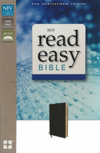 031062780X | NIV Read Easy Bible Black