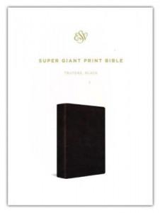 143355884X   ESV Super Giant Print Bible Black TruTone