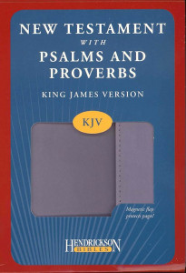 1598568132 | KJV New Testament With Psalms & Proverbs