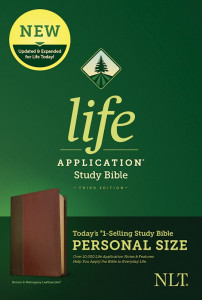 NLT Life Application Study Bible Personal Size