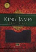 1401679595 | King James Study Bible, Second Edition, Bonded Leather, Burgundy