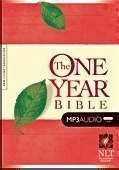 1414336519 | MP3 NLT2 One Year Bible