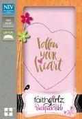 0310760771 | NIV FaithGirlz! Backpack Bible Compact-Pink Leathersoft