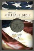 1586403656 | KJV Military Bible Large Print Compact-Grn Bond