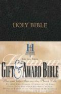 0879814608 | KJV Gift & Award Bible Black Imitation Leather