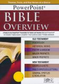1596364068 | Bible Overview: PowerPoint CD-ROM