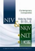 0310436923 | Contemporary Comparative Side-By-Side Bible-PR-NIV/NKJV/NLT/MS Bible