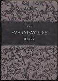 1478922982 | Amplified New Everyday Life Bible Gray Euroluxe