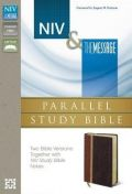 0310422973 | NIV & The Message Parallel Study Bible Personal Size