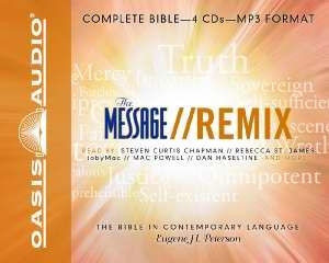 The Message Remix Complete Audio Bible on MP3 | The Bible Source